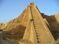 No information on where this is but it is an AWESOME Ziggurat model.