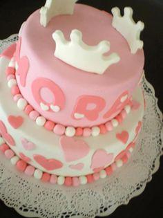 Torta de Princesas de dos pisos