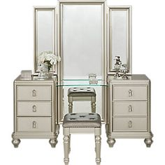 Popular Silver Bedroom Set Minimalist
