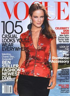 CAROLYN MURPHY | VOGUE OCTOBER,2001 COVER PHOTOGRAPHED BY STEVEN MEISEL
