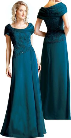 2016 New Design Simple Graceful Applique Beaded Chiffon Mother of the Bride Dresses for wedding Faddish Evening Dress Custom made Mother Of The Bride Gown, Mother Of Groom Dresses, Mothers Dresses, Mob Dresses, Wedding Dresses, Bride Dresses, Beaded Chiffon, Special Occasion Dresses, Beautiful Dresses