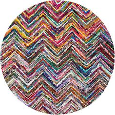 round colorful rugs - Google Search