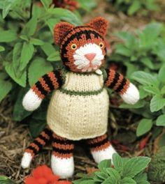 Tiger Lily ∙Free Knitting Pattern