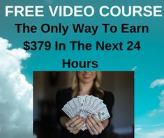 FREE Video Course Exposes How One Newbie Made $21,367 in 24 Hours   #howtomakemoney #makethatmoney #workathome #workfromhome #homebusiness #internetmarketing #onlinejobs #coronawirus #lockdown #stayhome #pandemic #quaratine #facemask #ppe #KN95 #N95 #Covid19 #stayathome Online Cash, Online Jobs, Make Money Online, How To Make Money, Internet Marketing Course, Online Marketing, Home Based Business, The Only Way, Seo