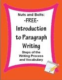 Paragraph Writing Introduction: Steps of Writing Process &