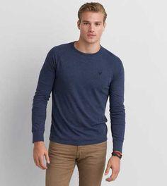 Men's T Shirts - Clearance Stylish Men, Men Casual, Preppy Men, Shirt Outfit, T Shirt, Shirt Print Design, American Eagle Men, Mens Outfitters, Long Sleeve Shirts