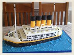 Titanic cake - great details!