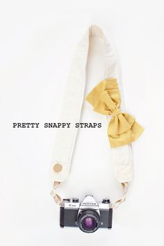 pretty snappy camera straps by bloom theory straps