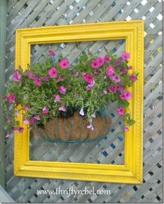 framed flowers 1----for the barn---luv this