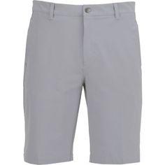 Adidas Men's Ultimate 3-Stripe Short Grey Light - Golf Apparel, Men's Golf Bottoms at Academy Sports