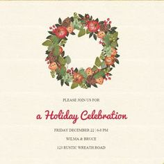 Holiday Invitations for the modern host, upload music, track RSVPs, sell event tickets. Holiday Invitations, Online Invitations, Party Invitations, Upload Music, Event Tickets, Holiday Parties, Event Planning, Rsvp, Track