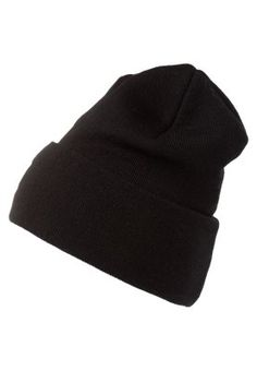 M�tze - black Casual Outfits, Beanie, Black, Fashion, Casual Clothes, Moda, Casual Wear, Black People, Beanies