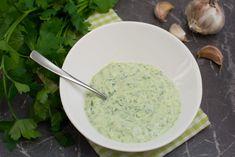 Grüner Joghurt Dip mit Knoblauch - Katha-kocht!