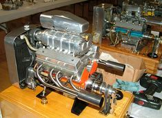 V-8 and V-12 Engines in Miniature
