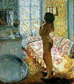 Bonnard, Model in Backlight