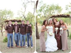 wedding jeans   Brown Tan Wedding Jeans. I really love this
