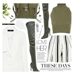 """""""The Modernity"""" by noviii ❤ liked on Polyvore featuring New Look, TIBI, WearAll, Tamara Mellon, 3.1 Phillip Lim, Lord & Berry, Topshop and modern"""