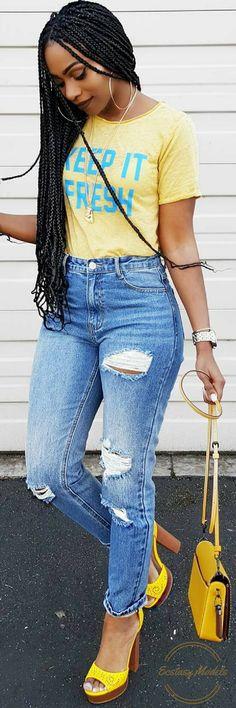 Keep It Fresh // Fashion Look By KeKe Cameron