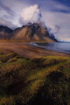 Vestuhorn, Iceland (photo by Trevor Anderson) | Svava Sparey Yoga Holidays #iceland #travel