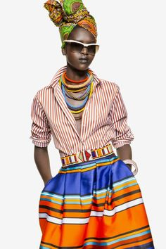 african influenced fashion - Google Search