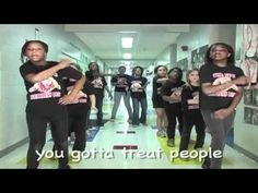Respect Rap This is AWESOME!i'd love to teach my students this. They could choreograph and film their own school version!!