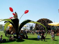 Once again, iconic art defines a festival and ensures its personality and longevity . from Coachella The Do Lab Oasis Art Installations, Installation Art, Event Ideas, Community Art, Coachella, Oasis, Stuff To Do, Art Projects, Dolores Park