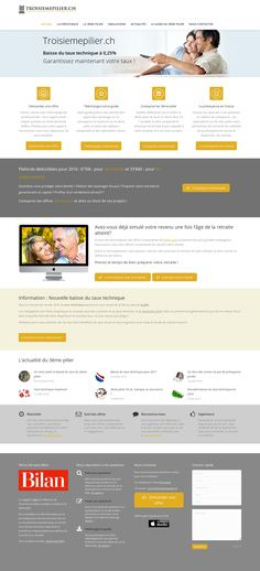 WordPress site troisiemepilier.ch uses the The7 theme wordpress