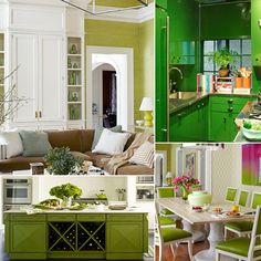 10+ Green Rooms That Will Inspire Envy