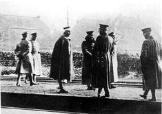 Bundesarchiv Bild 183-R12318, Eysden, Kaiser Wilhelm II. auf Weg ins Exil - Erster Weltkrieg – Wikipedia