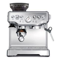 {Quick and Easy Gift Ideas from the USA}  Breville BES870XL Barista Express Espresso Machine http://welikedthis.com/breville-bes870xl-barista-express-espresso-machine #gifts #giftideas #welikedthisusa