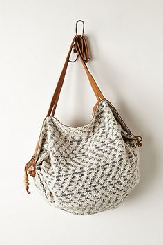 Daisy Beach Hobo Bag - anthropologie.com - going to figure out how to make...