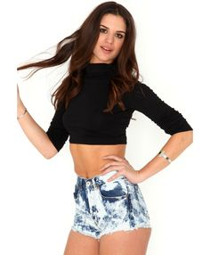Parker Tie Dye Hotpants- shorts- missguided