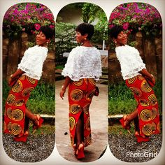 Latest Aso Ebi Lace Styles out 25 Beautiful Asoebi lace styles 2019 with Gele African Print Clothing, African Print Dresses, African Fashion Dresses, African Dress, Fashion Outfits, Aso Ebi Lace Styles, Lace Gown Styles, Ankara Styles, African Inspired Fashion