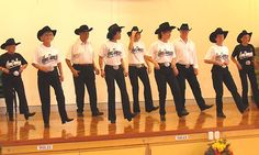 Wow ,!  We just love country line dancing!