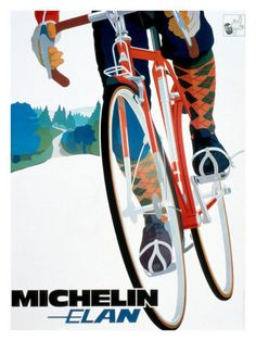 Michelin advertising poster #UpscaleYourWalls with ruemarcellin.com Original #Vintage #Posters and #Prints