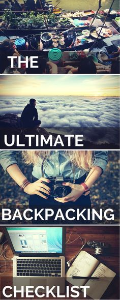 Ultimate Backpacker Checklist From Planning to Packing: Don't travel until…