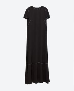 Image 11 of STUDIO TOP-STITCHED DRESS from Zara