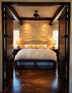 farmhouse bedroom by Bonterra Building & Design