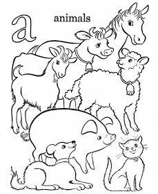เร ยนภาษาอ งกฤษ ความร ภาษาอ งกฤษ ทำอย างไรให เก งอ งกฤษ Lingo Think In English ภาพระบ Farm Animal Coloring Pages Abc Coloring Pages Horse Coloring Pages