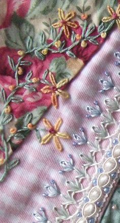 I ❤ crazy quilting & embroidery . . . A new beautiful result ~By Andrea (Stick Amazons)