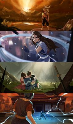 [ariespsyche] Team Avatar's Final Fight