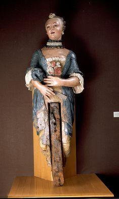 Female figurehead (French) - National Maritime Museum