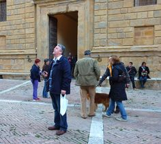 Just wandering about Pienza and enjoying the Perfect Traveller Audio Tour.
