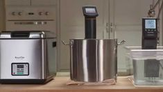 Video - Compare SousVide Supreme Water Ovens vs. Immersion Circulators. There are two types of sous vide equipment: water baths (such as the SousVide Supreme water oven) and immersion circulators. Both offer the precise temperature control necessary for safe sous vide cooking, but operate differently.