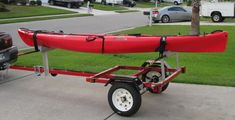 Kayak Trailer complete - except for fine tuning - Kayakfishingstuff.com Community Forums