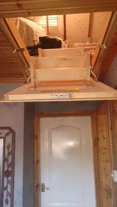 pine loft ladder