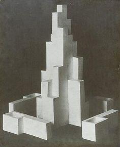 Design for monument Leeuwarden - Theo van Doesburg