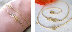 Delicate Gears Bracelet