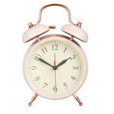 Pink tradational style alarm clock from Laura Ashely