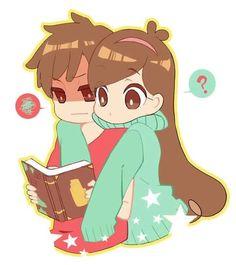 △ Gravity Falls- Dipper and Mabel △